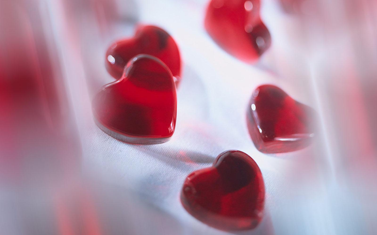 Wallpaper Crystal Hearts Wallpapers