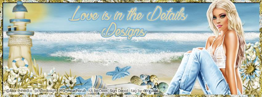 Love Is In The Details Designs
