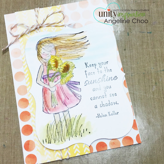 ScrappyScrappy: Quick tip video coloring with distress markers #scrappyscrappy #unitystampco #phyllisharris #card #distressmarkers #video