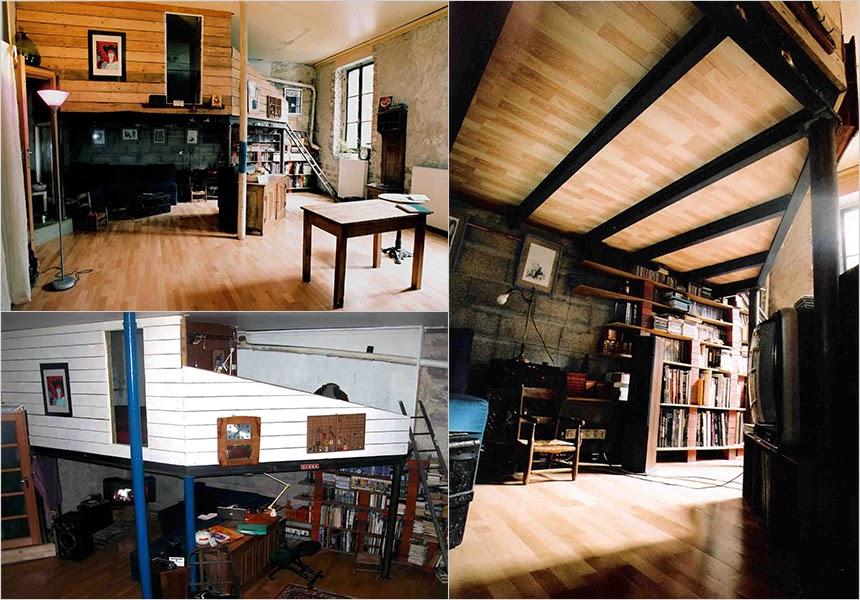 Création mezzanine dans un loft