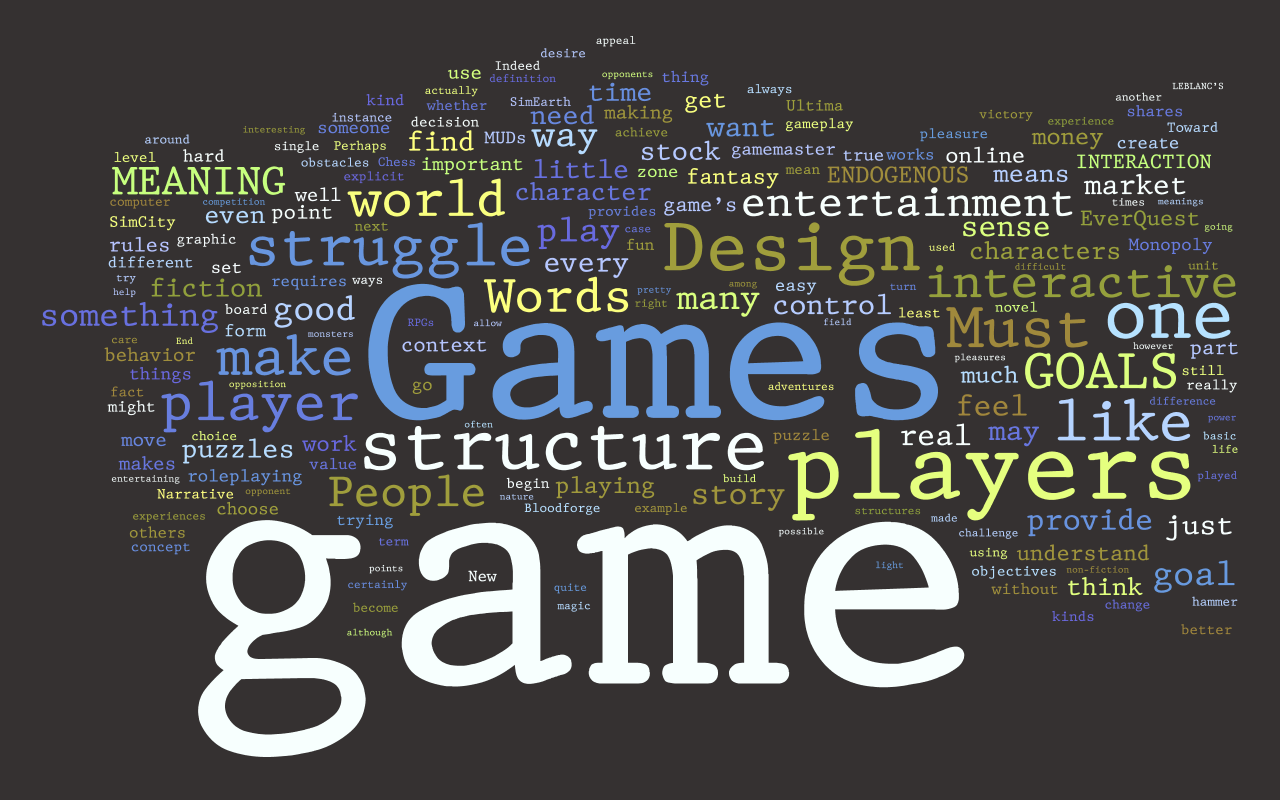 Computer Games Design?