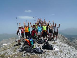 «Η ορειβασια απαιτεί Θεληση και Τολμη …..»