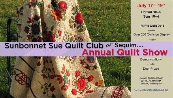 Threadmongers: July 2015 : sunbonnet sue quilt club sequim - Adamdwight.com
