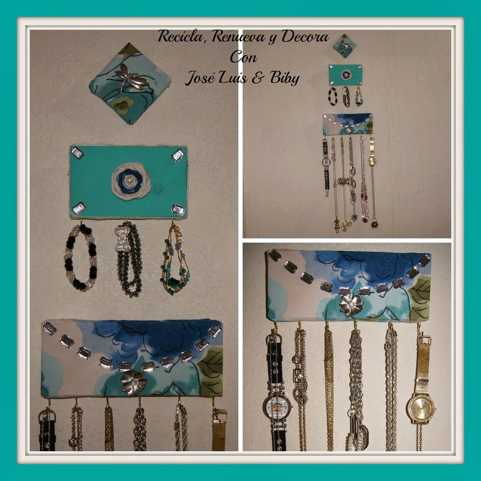 Recicla renueva y decora con jos luis y biby mini for Accesorios para decorar