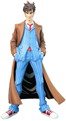Doctor Who Dynamix 9 Inch Vinyl Figures by Big Chief Studios - David Tennant as The Tenth Doctor