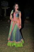 Manasa Glamorous Photos in Half saree-thumbnail-14