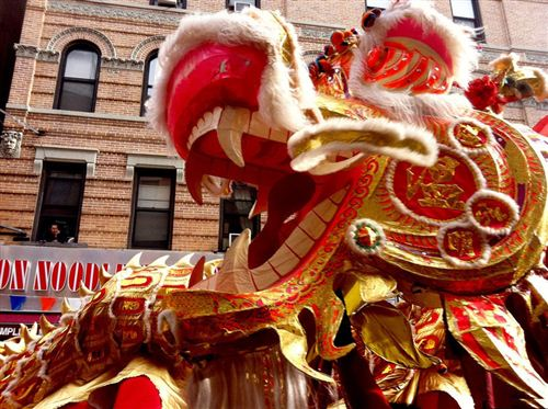 Biggest Chinese New Year Parade In New York