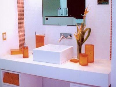 Fotos de Banheiros Decorados com Pastilhas