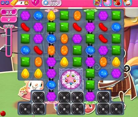 Candy Crush Saga 550