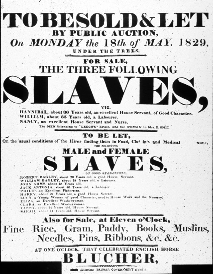 Colonial Newspaper Advertisements