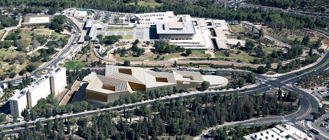 הצעת האדריכל רפי סגל – מבט ממערב )הדמיה(