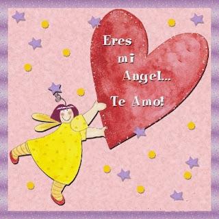 Frases De Amor: Eres Mi Ángel Te Amo