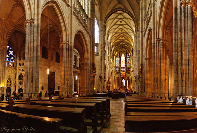 Готический собор Прага Чехия