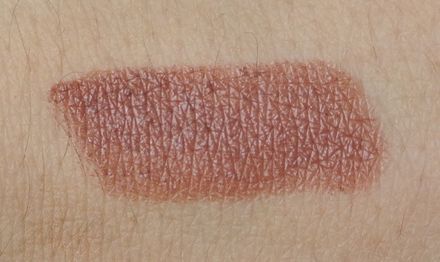 mac amplified double shot lipstick swatch