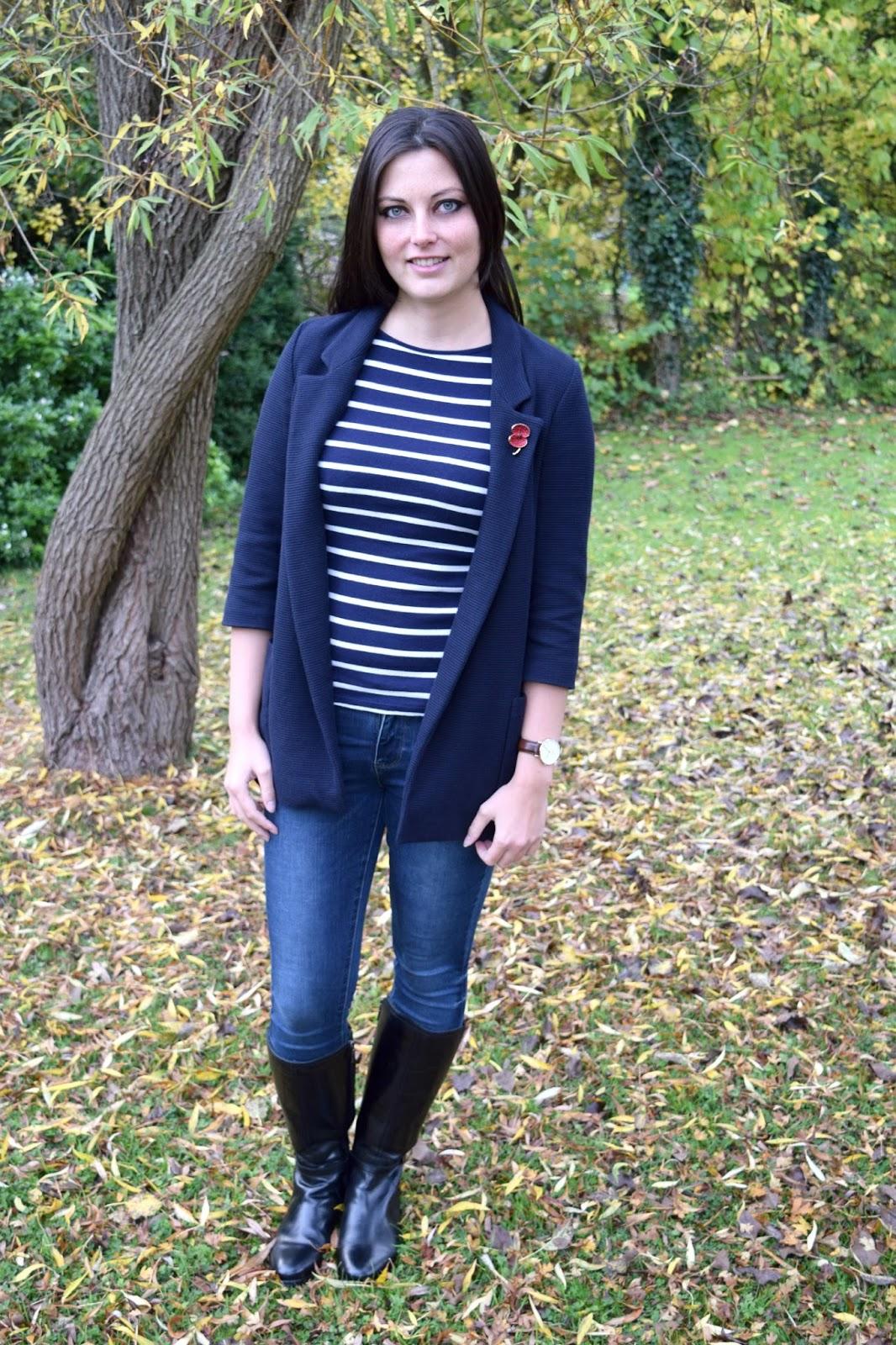 Breton Shirt Duchess of Cambridge look ootd
