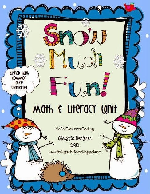 http://www.teacherspayteachers.com/Product/Snow-Much-Fun-Math-Literacy-Unit-192699