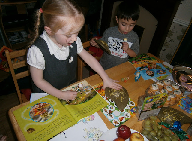 tree fu tom party books squizzles fun