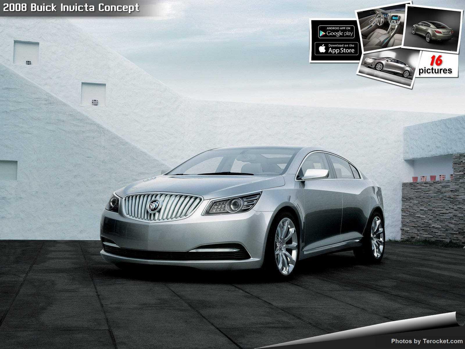 Hình ảnh xe ô tô Buick Invicta Concept 2008 & nội ngoại thất