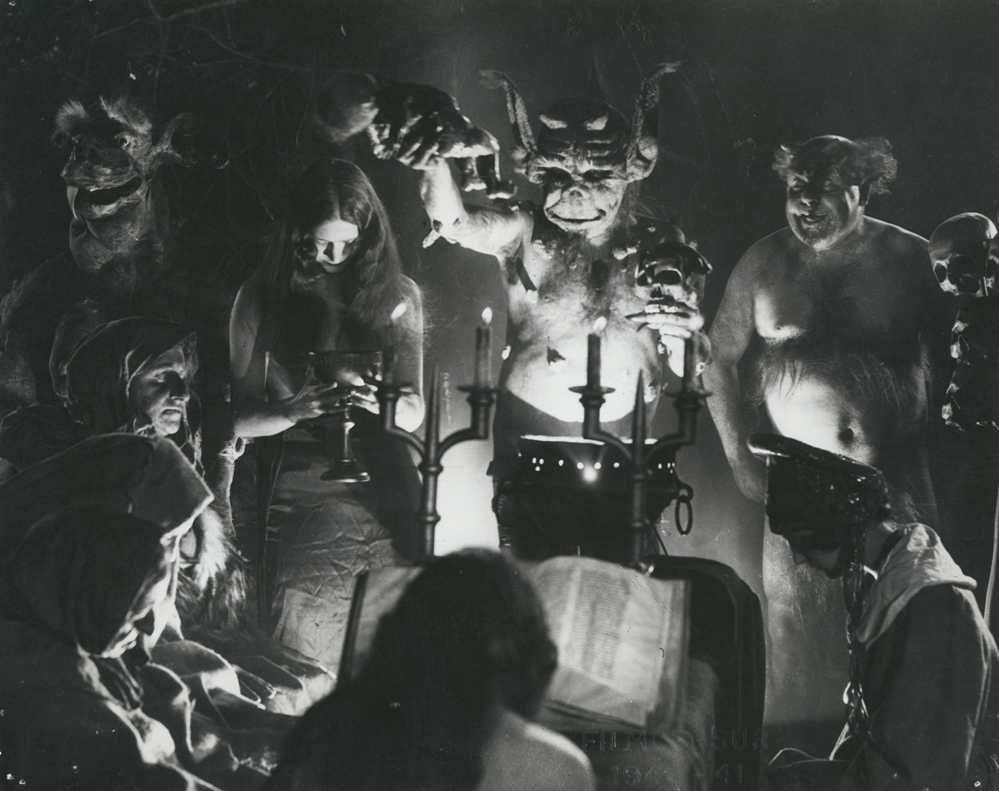 Haxan 1922 The History Of Witchcraft From A Silent Film Era