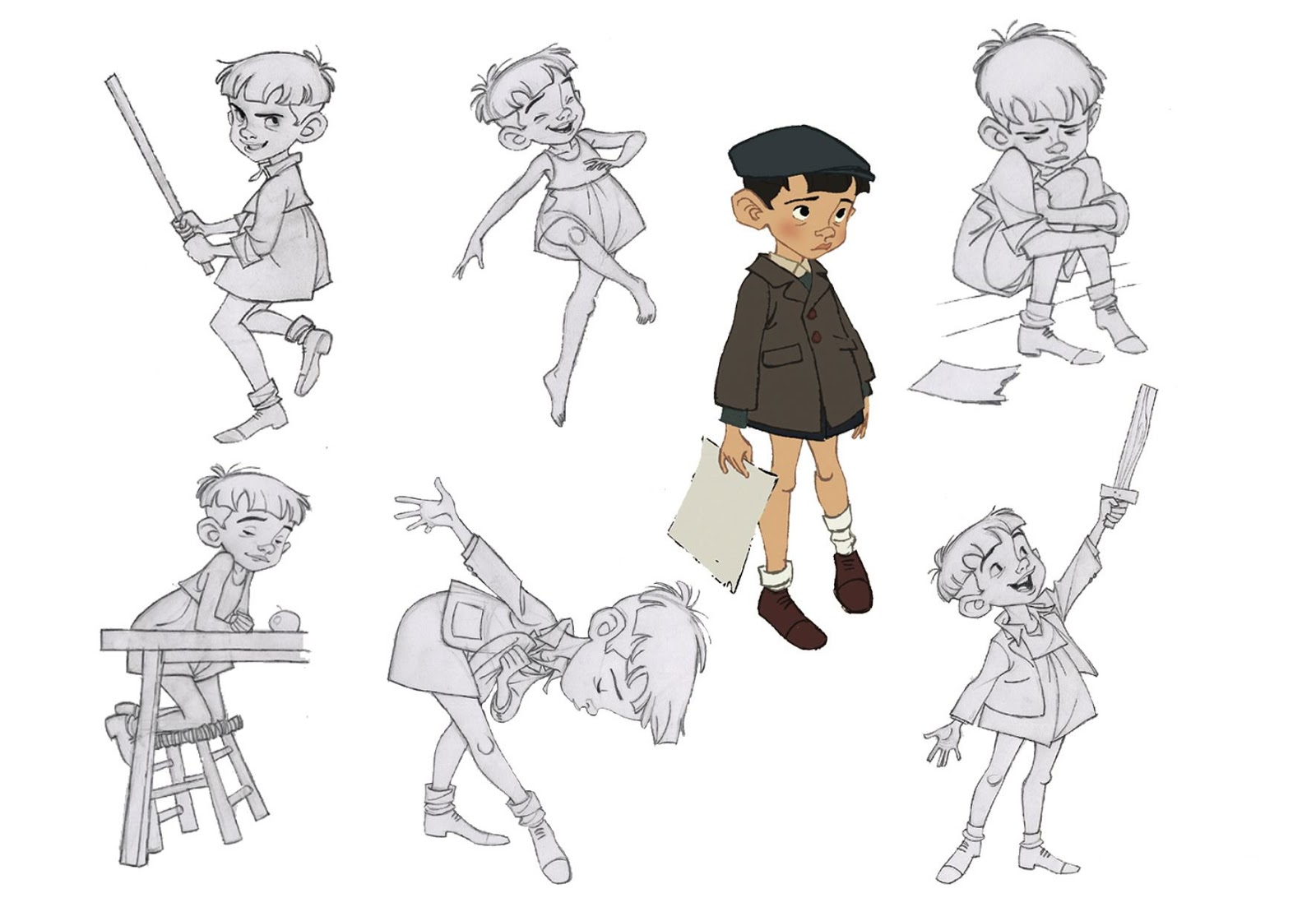 Character Design Little Boy : Borja montoro interview