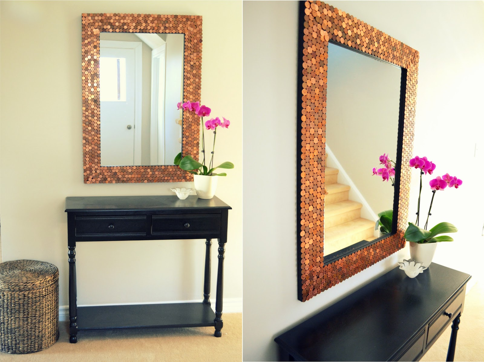 Diy Painted Mirror Frame Diy Painted Mirror Frame S - Ghane.co