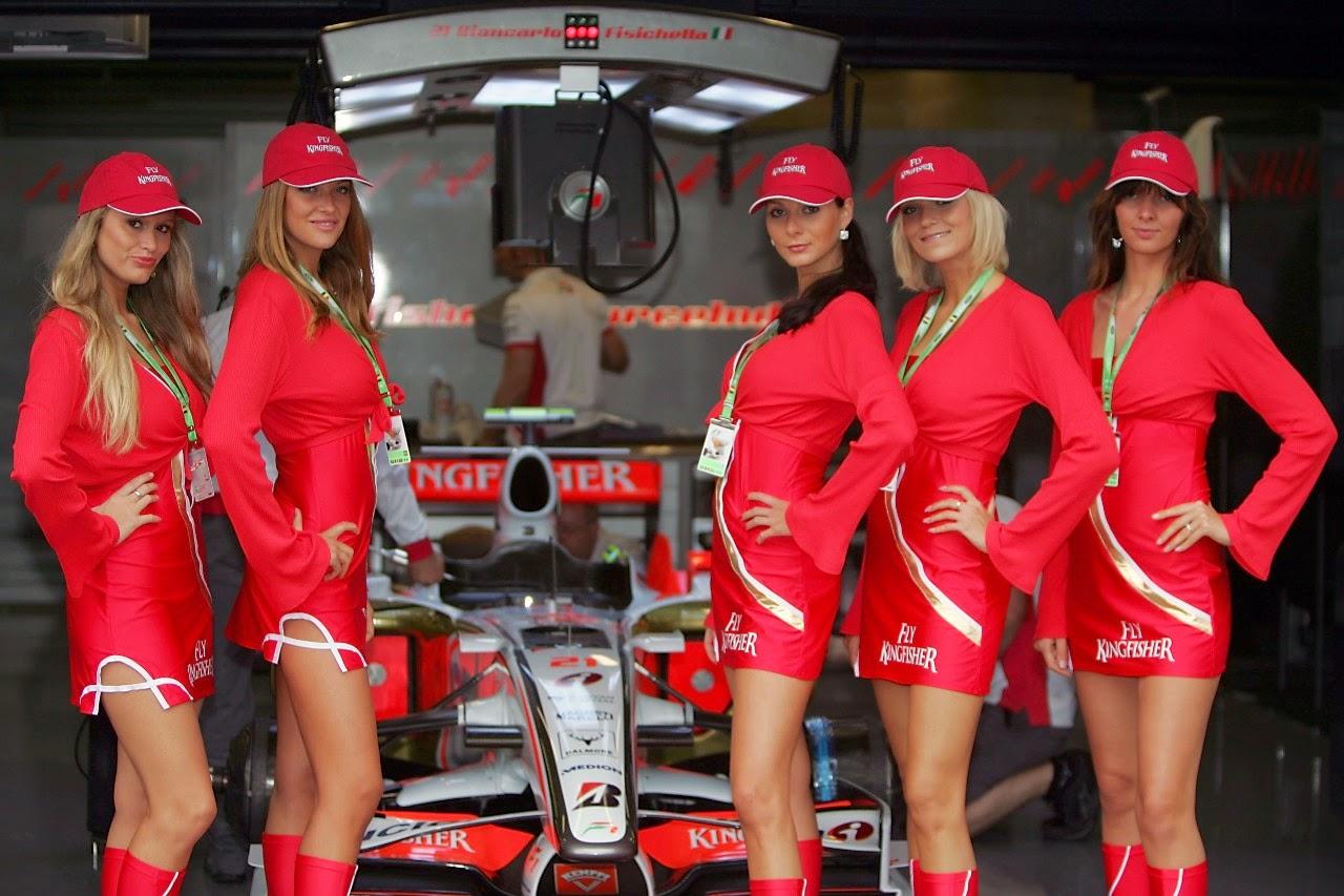 Fotos chicas formula 1 24