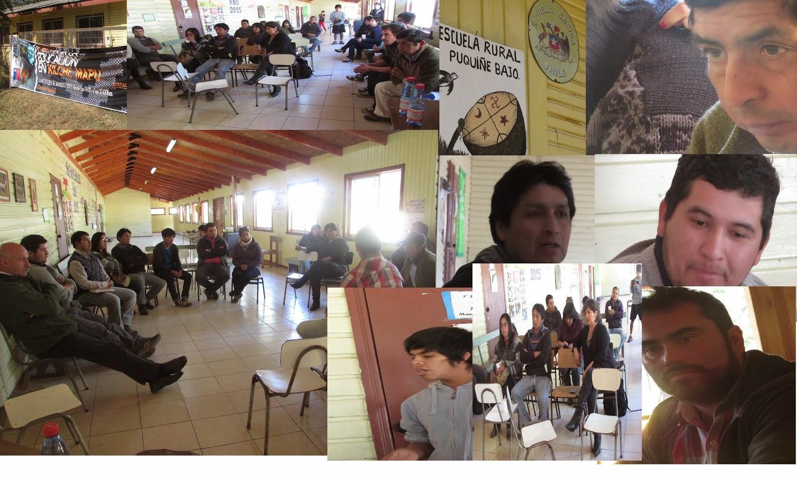 Primer Foro por la Educacion en el Lof Quilche Mapu