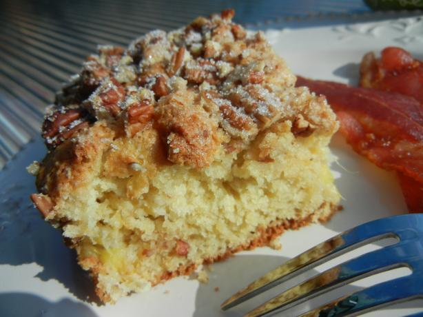 Mika's Pantry: Pineapple Coffee Cake with Sugared Pecan Topping