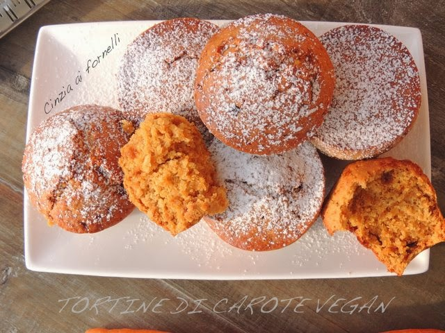 muffin con carote