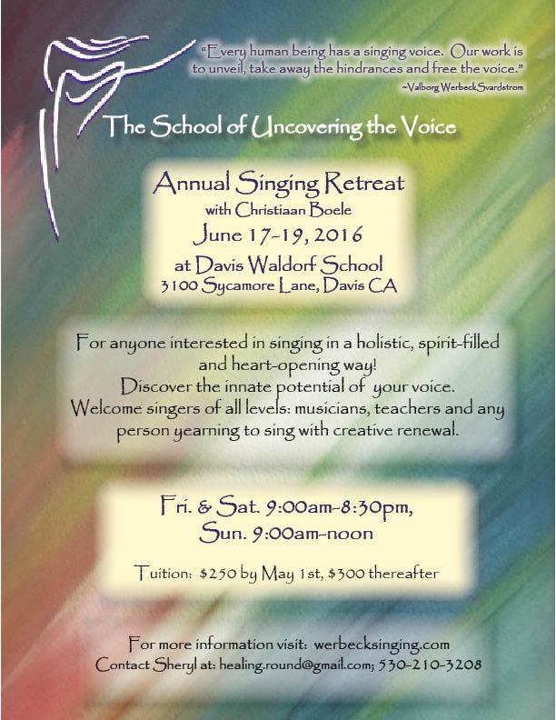 Annual Singing Retreat