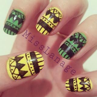 nail-art-challenge-tribal-manicure