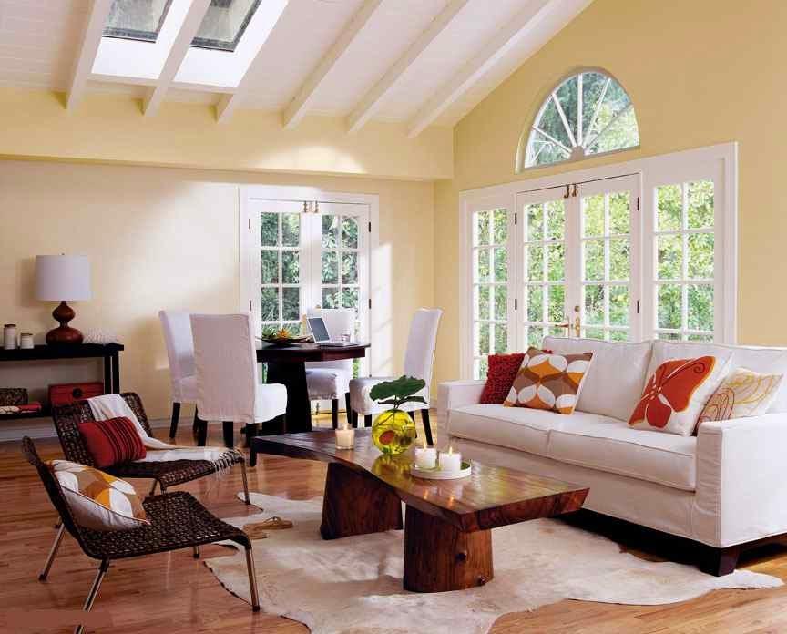 Comment choisir une couleur de peinture pour un salon for Peinture interieure couleur