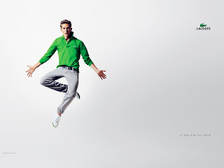 Lacoste Men Wear Green T-Shirt Ads HD Wallpaper