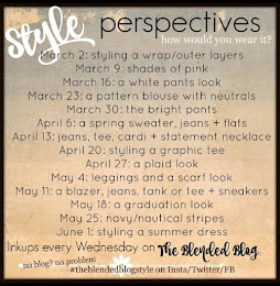The Blended Blog's Style Perspectives Link Up