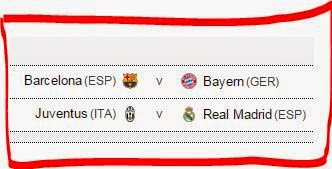 Hasil Drawing Liga Champions: Barca vs Bayern, Madrid vs Juve