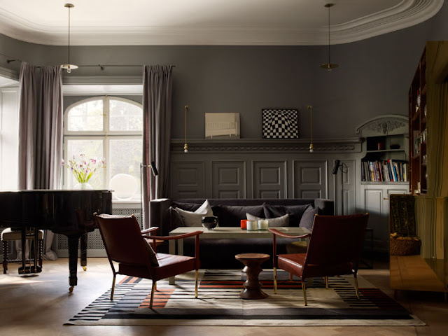 Skandinavisches / Midcentury Design im Ett Hem Hotel in Stockholm