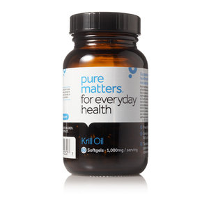 Fashion with fitness review krill oil by pure matters for Mega red fish oil