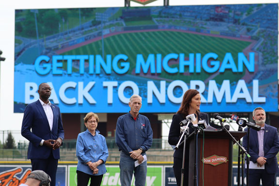 """Governor Whitmer accelerates """"MI Vacc to Normal"""" plan"""