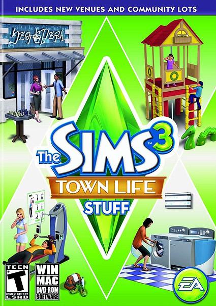 מלא משחקים להורדה בטורנט ל PC The+Sims+3+Town+Life+Stuff_PC