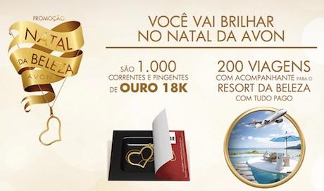 Participar promoção de natal Avon 2014