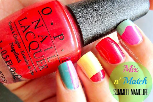 Mix n'Match Summer Manicure