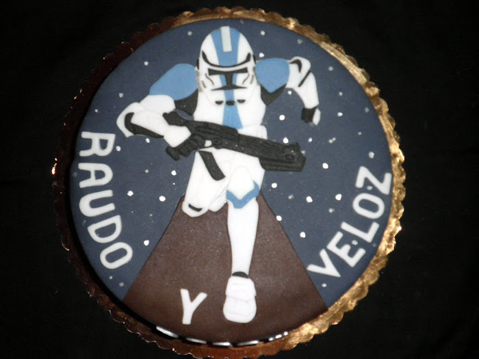 Tarta Clon Star Wars