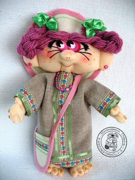 Кукла ручной работы Веснянка