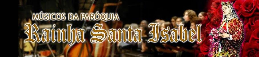 Músicos da Paroquia Rainha Santa Isabel