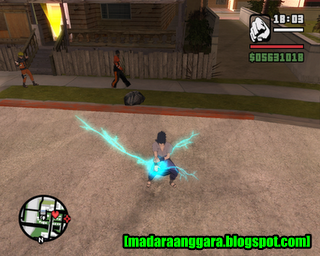 Mod GTA San Andreas: All in One Effect