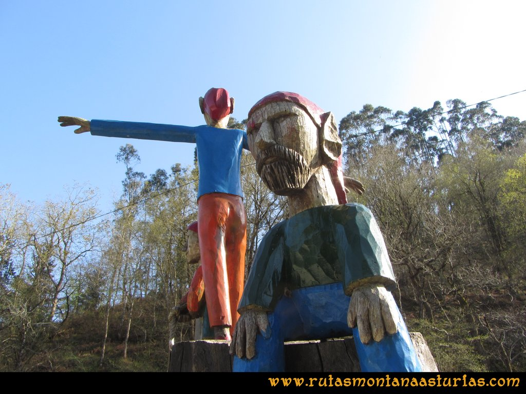 Reunión de Trasgus en el Camino Encantado, Llanes