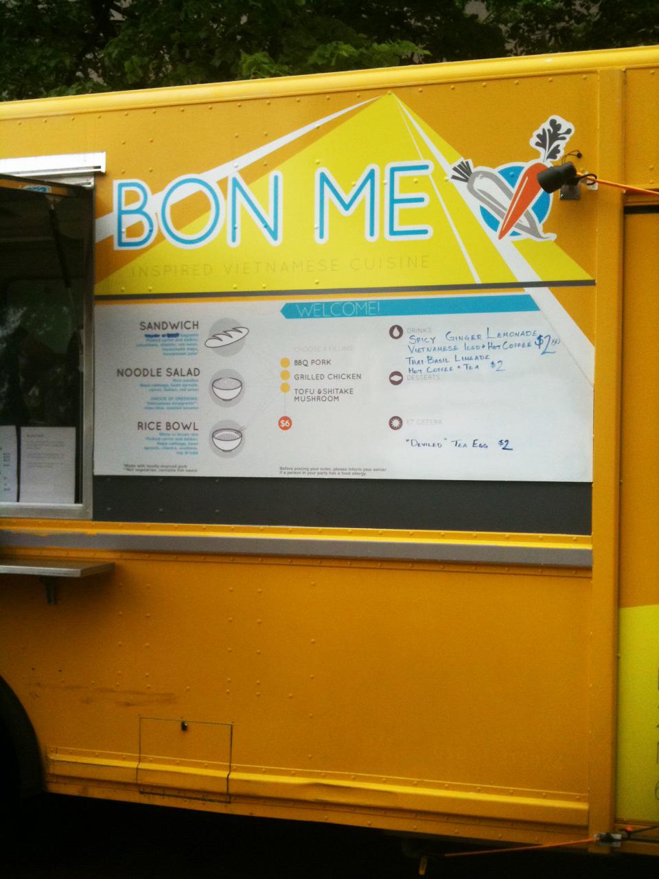 Bon Me Food Truck Boston