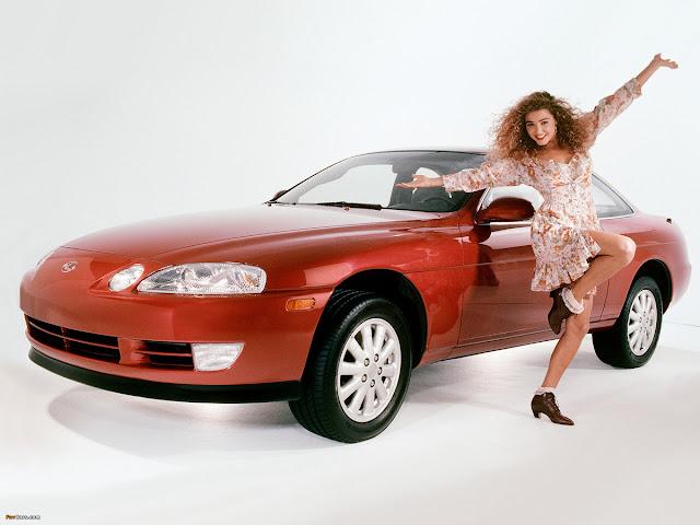 Lexus SC, samochody z lat 90, mało znane auta, japońska motoryzacja