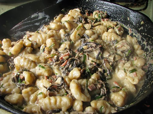 Gnocchi with Whisky Cream Sauce
