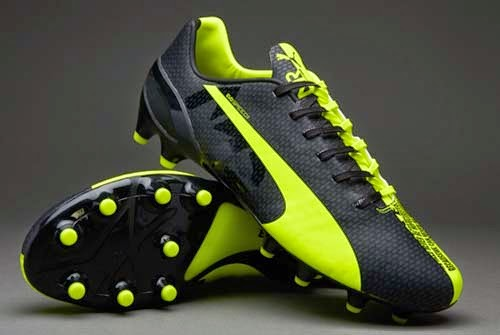 Puma evoSPEED FG Marco Reus Football Boots with Yellow/Black/Grey